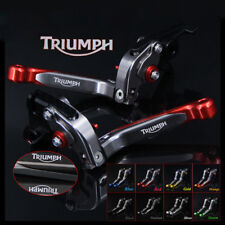 For TRIUMPH SPEED TRIPLE R 2016 Adjustable Folding Extending Brake Clutch Levers