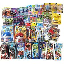 [GIFT WRAP] Pokemon 12 Assorted Toy Sticker School Supply Stationary Gift Set