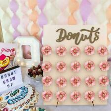 Wooden Donut Wall Stand Donut Party Decor Doughnut Holder Wedding Party Decor