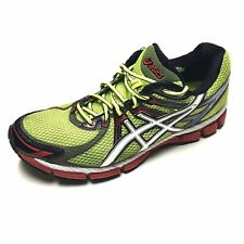 Asics GT 2000 T2K2N Running Shoes Mens US Sz 10.5 Green Red Black