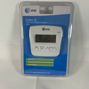 AT&T Caller ID Model #326 Windchill White Brand New Factory Sealed
