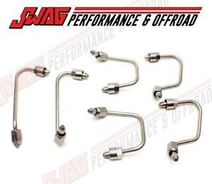 Complete Fuel Injector Line Set Kit For 07-18 Dodge Ram 6.7 6.7L Cummins Diesel