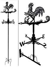 Floor standing and wall mounted Weathervanes Steel Rooster Cockerel Weathervane