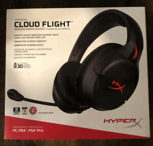 NEW HyperX Cloud Flight Wireless Gaming Headset PC PS4 PS5