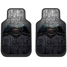DC Comics Batman vs Superman Truck Car Front Vehicle Rubber Floor Mats