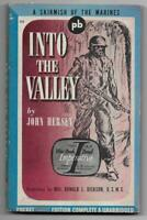 Into the Valley - John Hersey -1943 Pocket pb #225 - 1st printing, Marines, WWII