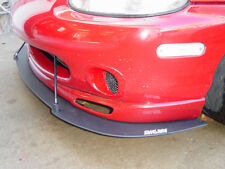 mazda mx5 mk1/mk2 bumper blade splitter and Side lip extensions new bodykit