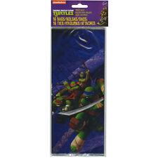 Teenage Mutant Ninja Turtles 16 Pack Treat/Goody Bags with Ties