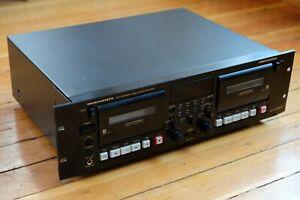 MARANTZ PMD511U Professional rack mount dual cassette deck dub dolby READ