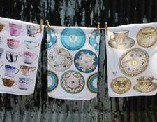 100% Linen Tea Towels & Dishcloth