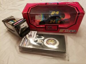 Jeff Gordon Bundle 1/64 & 1/32 Diecast / With A Key Fob