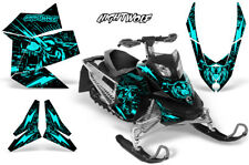 Ski-Doo Rev XP Decal Graphic Kit Sled Snowmobile Sticker Wrap 08-12 NIGHTWOLF M