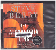 The Alexandria Link Steve Berry Audio Book Cds Unabridged 14 discs in case