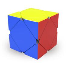QIYI 3X3x3 Skewb Magic Cube No Sticker Twist Puzzle Intelligence Brain Teasers