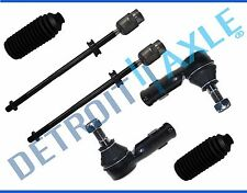 NEW 6pc Inner and Outer Tie Rod Ends + Boot Kit for Volkswagen Golf Jetta 85-92