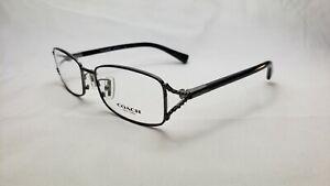 Coach Eyeglasses HC 5073 9017 Dark Silver/ Black [54-16-135]