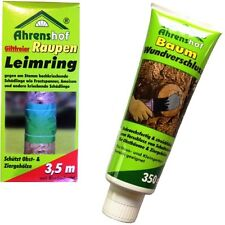 2er Set Baumwachs Wundverschluss & Ahrenshof Raupenleimring giftfrei