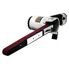 "1/2"" x 18"" 0.5 Hp Air Belt Sander w 3-Piece Belts #40, #60 & #80"