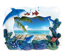 "Puzzled Bliss Photo Frame 6""x4"" Dolphin Cove"