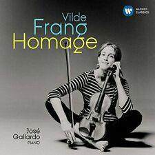 Vilde Frang-Homage (CD) Brand New Sealed