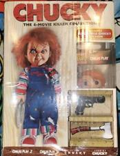 CHILDS PLAY CHUCKY 4 MOVIE DVD FUNKO POCKET POP SET NEW!