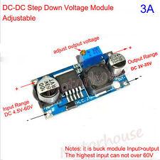 DC-DC Buck Step Down Adjustable Converter 4.5-60V to 3.3V 5V 6V 9V 12V 24V 3A