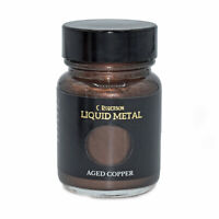 AGED COPPER LIQUID METAL METALLIC PAINT 30ml PAINTING LEAF GILDING CR78671D