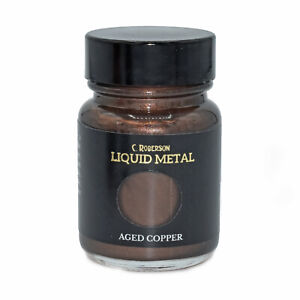 AGED COPPER LIQUID METAL METALLIC PAINT 30ml PAINTING LEAF GILDING CR78671D