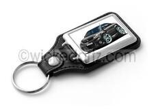 WickedKarz Cartoon Car Vauxhall Vectra VXR/SRi in Black Key Ring