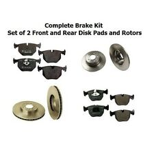 BMW E53 X5 Complete Brake Kit Front and Rear Disc Brake Rotors and Pads Set of 2