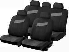 Copertura universale per sedile auto sportiva tempo grigio nero frazionabile