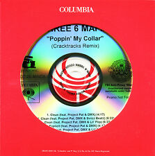 Three 6 Mafia POPPIN' MY COLLAR (CRACKTRACKS REMIX) (Promo CD) (2006) RARE