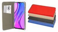 Handy-Tasche Schale Buch Hülle für XIAOMI REDMI 9 Book-Style // 3-Farben