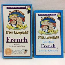 The Family Circus Lyric Language • FRENCH • VHS w/ Book‼ Bill Keane Live Action