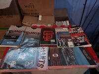 Vintage Lot of (7) San Francisco Giants Baseball Media Press Record Guides