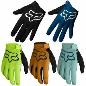 Fox Ranger Gloves FA21 MTB Mountain Bike Full Finger Enduro Trail Protection NEW