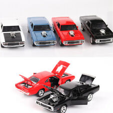 1x New 1:32 Fast and Furious Dodge Alloy Diecast Car Model Toy Sound & Light