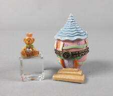 Boyds Uncle Bean's Treasure Boxes Eggcellent Abode with Flopsy McNibble