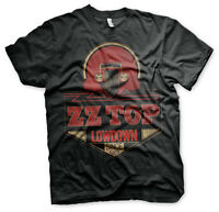 ZZ Top Lowdown Since 1969 Hot Rod Blues Rock Band Musik Tour Männer Men T-Shirt