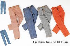 kcs0163 4 pc Fashion Denim Jeans for 1/6 Homme  FR Ken Colour Infusion