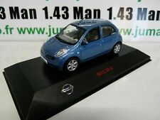 NI2 Car 1/43 J collection: Nissan Micra Blue
