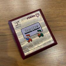 NINTENDO GAME & WATCH  MARIO BROS Nintendo MW-56 POKKA RARE