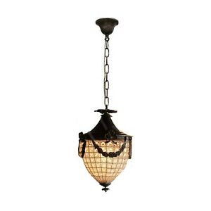 Basket Crystal Brass Chandelier Strawberry Clear Beads Ceiling Lighting Decor
