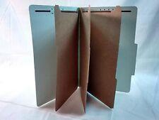 Globe-Weis Colored Classification Folders 2/5-cut tab Pack of 10
