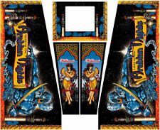 Tales of the Arabian Nights Pinball Machine Cabinet Decals NEXT GEN - LICENSED