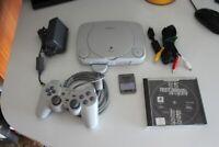 CONSOLE PSONE PS1 PLAYSTATION usata funzionante con gioco, controller e memory