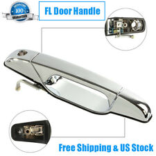 Chrome Outer Front Left Driver Side Door For 07-14 Cadillac Escalade  GMC Yukon