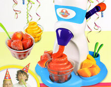 Young Chef FROSTY FRUIT Kinder-Eismaschine Eis Sorbet Maschine Eisbereiter NEU