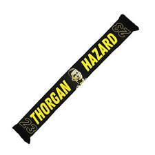 """Borussia Dortmund BVB Fanschal """"Thorgan Hazard""""  BVB - Schal Hazard # 23"""