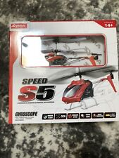 Syma Speed S5 REMOTE CONTROL HELICOPTER Gyroscope 3 Channel Ages 14+ NEW